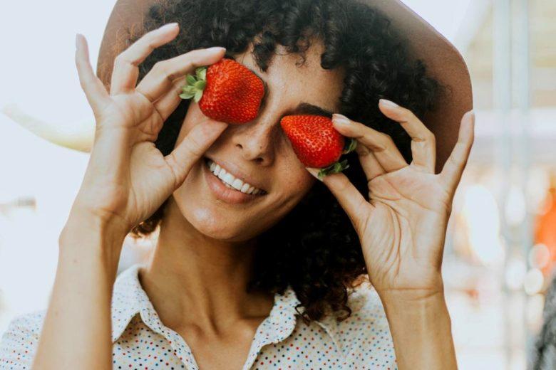 Masque visage à la fraise - Recettes maison pour les peaux mixtes à grasses